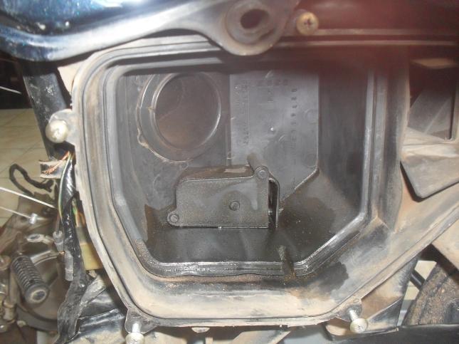 Box Filter udarapun diserbu Oli mesin...